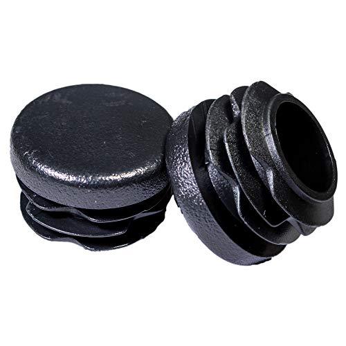 Prescott Plastics 8 Pack 1 Inch Round Plastic Plug Pipe