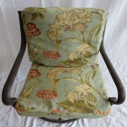 Patio Dining Chair Cushion Covers, Set of 6 for 6 Chairs. Max 20 x 20 x 4 Cushion Size. Top and  ...