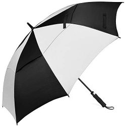 Z ZAMEKA Golf Umbrella – 62 Inch Windproof Umbrellas Automatic Open with Sun Protection &# ...