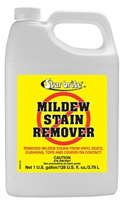 Star brite Mold & Mildew Stain Remover + Cleaner – Lifts Dirt & Removes Mildew Stains on ...