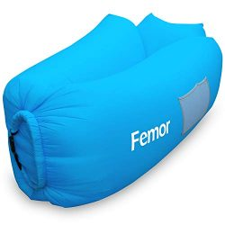 femor Air Sofa Bed, Inflatable Couch, Water Proof& Portable Anti-Air Leaking Couch for Patio ...