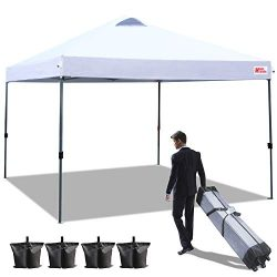 MASTERCANOPY Commercial Canopy 10×10 Ez Pop up Canopy Portable Shade Instant Folding Better ...