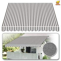 Strong Camel 12'x10′ Patio Awning Cover Retractable Deck Sun Shade Shelter Canopy Co ...