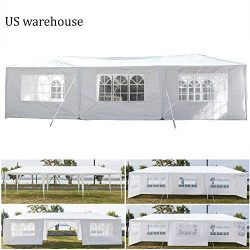 Teekland 10'x30′ Outdoor Canopy Party Wedding Tent,Sunshade Shelter,Outdoor Gazebo P ...