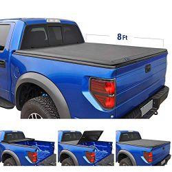 Tyger Auto T3 Tri-Fold Truck Bed Tonneau Cover TG-BC3C1005 Works with 2007-2014 Chevy Silverado/ ...