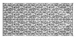 Camco 42843 Swirl Awning Leisure Mat-Charcoal 8′ X 16′