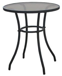 Courtyard Creations TGS23HG Four Seasons Verona 24″ Round Bistro Table