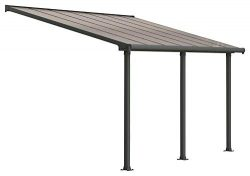 Palram HG8814 Olympia Patio Cover, 10′ x 14′