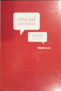Crucial Conversations Audio Companion 4th Edition (6 CD Set, 2012)
