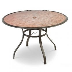 Four Seasons Courtyard, Boston Collection, 48″, Round Patio Table