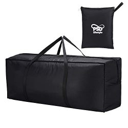 Patio Cushion and Furniture Storage Bag   Waterproof Bag for Outdoor Chair, Bench and Chaise Cov ...