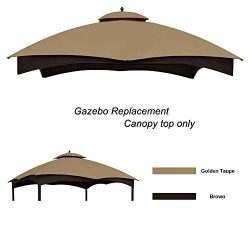 Eurmax Replacement Canopy Top for Lowe's Allen Roth 10X12 Gazebo #GF-12S004B-1 (B)