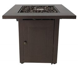 Antique Hammered Bronze Finish Propane Fire Pit Patio Heaters Outdoor Gas Table Best Massage
