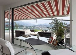 ADVANING 10'x8′ Manual Patio Retractable Awning   Luxury Series   Premium Quality, 1 ...