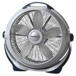 Lasko 3300 20″ Wind Machine Fan With 3 Energy-Efficient Speeds – Features Pivoting Head fo ...