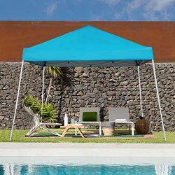 Blissun 10′ x 10′ Outdoor Pop-Up Slant Leg Canopy, Folding Tent Portable Pergola for ...