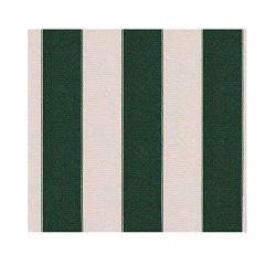 STRIPE Waterproof Canvas Awning Fabric Fabric WATERPROOF OUTDOOR Fabric 60″ (HUNTER GREEN/ ...