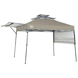 Quik Shade Summit 10 x 17-Foot Instant Canopy with Adjustable Dual Half Awnings, 170 Square Feet ...