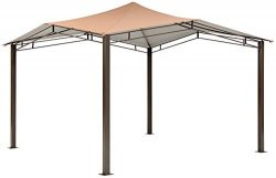 ShelterLogic Canopy Series Sequoia 12 x 12-Foot Easy Assembly Seasonal Shade UV Protection Outdo ...