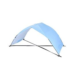 Fine Beach Tent Sun Shelter, Sand & Surf Beach Tents Umbrella & Canopy Easy Setup for Ou ...