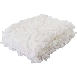 White Camo Netting Large Camouflage Netting For Kids Den Shade Netting Roll For Plants Garden Ca ...