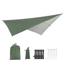 Waterproof Camping Tarp, Portable Protective Garden Screen Shelter Awnings Gazebo Canopy Patio O ...