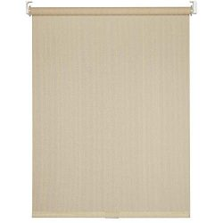 Cord-Free Easy Spring Action High-Density Polyethylene Exterior Roller Shade (72″ X 72R ...