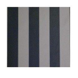 STRIPE Waterproof Canvas Awning Fabric Fabric WATERPROOF OUTDOOR Fabric 60″ (GRAY/COAL 10, ...