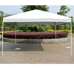 Outsunny 13′ x 13′ Large Outdoor Patio Pop Up Gazebo PartyTent Instant Canopy Shelte ...
