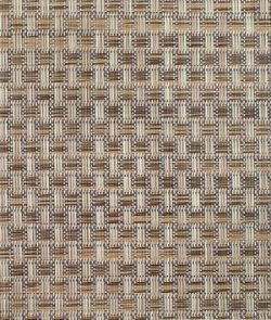 Phifertex PVC Wicker Weaves – Veranda Nutmeg Fabric – by the Yard