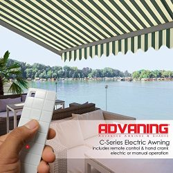 ADVANING 16'X10′ Motorized Patio Retractable Awning | Classic Series | Premium Quali ...