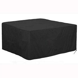 IslandseWaterproof Outdoor Patio Furniture Cover Rectangular Garden Rattan Table Cover (B123X 12 ...