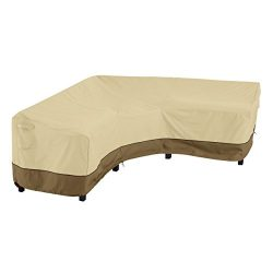 Classic Accessories Veranda V-Shaped Sectional Sofa Cover, X-Large