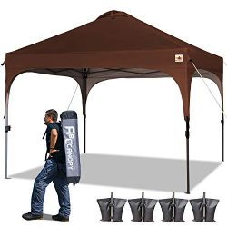 ABCCANOPY Canopy Tent Pop-Up Canopies Compact Tents Instant Shelter Portable Shade Outdoor Canop ...