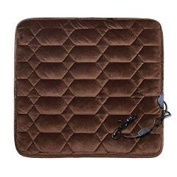 Car Seat Heater Covers Pad Electric Heated Seats Cushion Mat (Prism Brown)