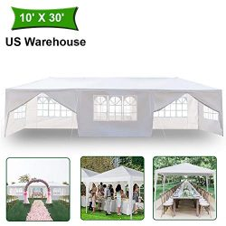 MTFY Outdoor Canopy Tent, Portable Gazebo Canopy Tent for Party Wedding Commercial Waterproof, U ...