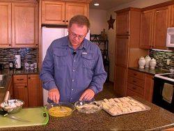 Baked Parmesan Walleye