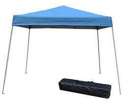 Impact Canopy 10′ x 10′ Instant Slant-Leg Canopy Tent, Royal Blue