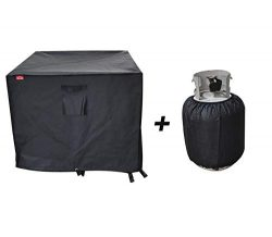 BBQ Coverpro Gas Fire Pit Cover Square – Premium Patio Outdoor Cover Durable and 100% Wate ...