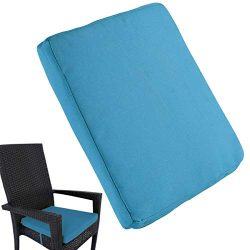 Uheng 6 Pack Patio Outdoor Chair Cushions with Ties, Seat Pads Mat, Waterproof Removable Cover,  ...