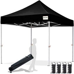 EliteShade 10'x10′ Commercial Ez Pop Up Canopy Tent Instant Canopy Party Tent Sun Sh ...