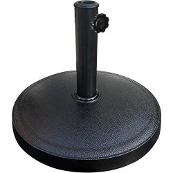 EliteShade Umbrella Base Stand Market Patio Outdoor Heavy Duty Umbrella Holder,Black