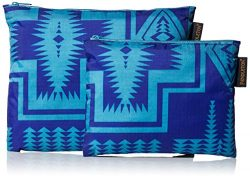 Pendleton Women's 2 Pack Zip Pouch, harding royal, One Size