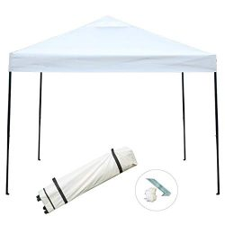 Sunnyglade 10'x10′ Pop-up Canopy Tent Commercial Instant Tents Market Stall Portable ...