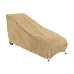 Classic Accessories Terrazzo Patio Chaise Lounge Cover, Large