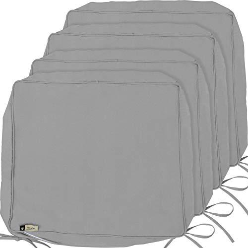 Outdoor Cushion Covers, 4-Pack Deep Seat Patio Cushion
