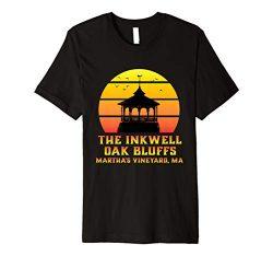 Sunset Gazebo Inkwell Beach Oak Bluffs Martha's Vineyard MA Premium T-Shirt