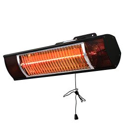 Star Patio Electric Patio Heater, Indoor/Outdoor Heater, Infrared Heater, Wall Mounted, Outdoor  ...