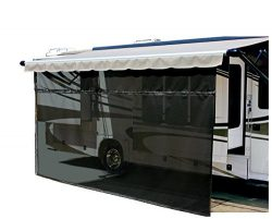 Carefree 701509 Black 15′ x 9′ Drop RV Awning EZ ZipBlocker