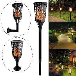 Kanzd 1PC LED Solar Garden Lights Lawn Light for Patio Yard and Garden (B)